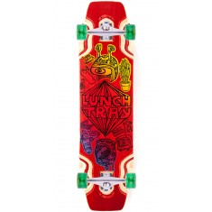 "DB Lunch Tray 36"" Longboard Complete - Red"