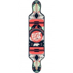"DB Urban Native 40"" Longboard Deck - Red/Green"