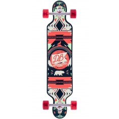 "DB Urban Native 40"" Longboard Complete - Red/Green"