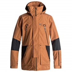 DC Command Snowboard Jacket - Leather Brown