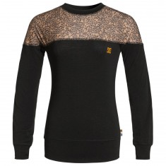 DC Galena Womens Snowboard Base Layer - Hebon Leopard