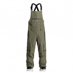 DC Platoon Overall Snowboard Pants - Beetle