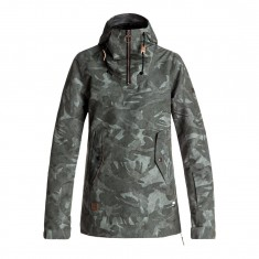 DC Skyline Womens Snowboard Jacket - Brittish Camo