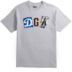 DGK Mash Up T-Shirt - Athletic Heather