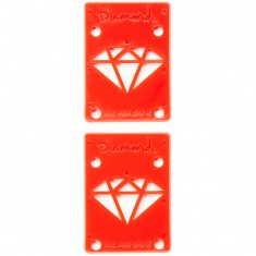 Diamond Rise And Shine Riser Pads - Red