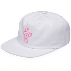 Diamond Supply Co. X Dogtown Strapback Hat - White