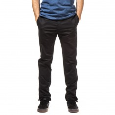 Dickies Twill Pants with Pivot-Tek - Black