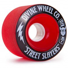 Divine Street Slayers Longboard Wheels 72mm