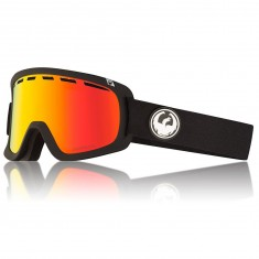 Dragon D1 OTG Snowboard Goggles - Black/LumaLens Red Ion