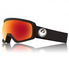 Dragon D3 OTG Snowboard Goggles - Black/LumaLens Red Ion