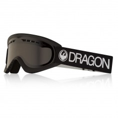 Dragon DX Snowboard Goggles - Black/Dark Smoke