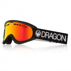 Dragon DX Snowboard Goggles - Black/LumaLens Red Ion