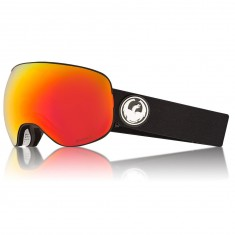 Dragon X2 Snowboard Goggles - Black/LumaLens Red Ion