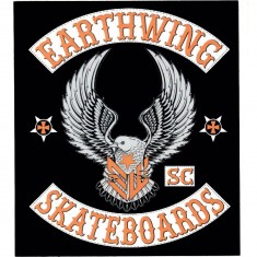 EarthWing Eagle Sticker - Black