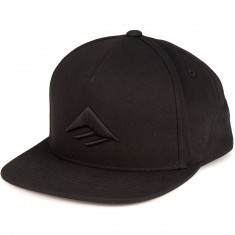 Emerica Triangle Snapback Hat - Black