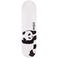 Enjoi Whitey Panda Logo Wide R7 Skateboard Deck - Whitey - 8.00""