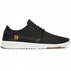 Etnies Scout Shoes - Black/White/Gum