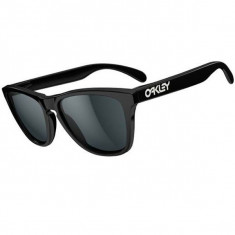 Oakley Frogskins Sunglasses - Polished Black/Grey