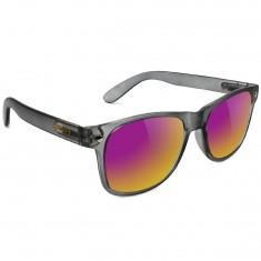 Glassy Leonard Sunglasses - Dark Grey/Purple Mirror