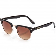 Glassy Morrison Sunglasses - Black/Brown Lens