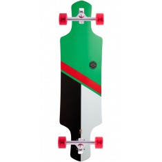 Globe Geminon Longboard Complete - Green/Red