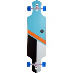 Globe Geminon Longboard Complete - Sky/Orange