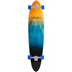 Globe Pinner Classic Longboard Deck - Orange Fade Dye