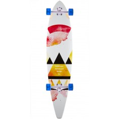 "Goldcoast Salvia 40"" Pintail Longboard Complete"