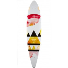 "Goldcoast Salvia 40"" Pintail Longboard Deck"