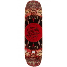 "Gravity 34"" Pool The Rook Longboard Deck - Red - Blem"