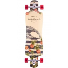 "Gravity 38"" Double Drop Pineapple Express Longboard Complete"
