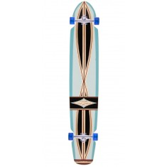 "Gravity Boards 55"" Ed Economy Longboard Complete - Light Blue"