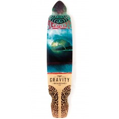 Gravity Drop Kick Rainbow Barrel Longboard Deck