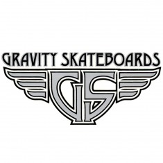Gravity Wings Logo Sticker