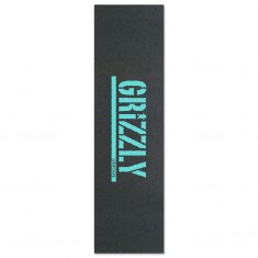 Grizzly Stamp Print Grip Tape - Diamond Blue