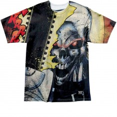 Grizzly X Ghost Rider Chainsaw T-Shirt - Multi