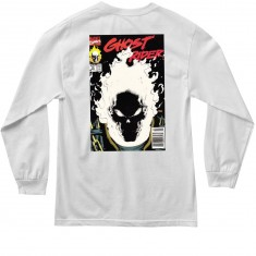 Grizzly X Ghost Rider Longsleeve T-Shirt - White