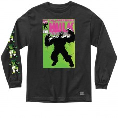 Grizzly X Hulk Cover Longsleeve T-Shirt - Black