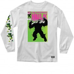 Grizzly X Hulk Cover Longsleeve T-Shirt - White