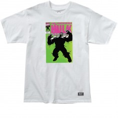 Grizzly X Hulk Cover T-Shirt - White