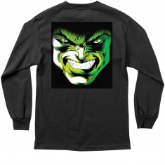 Grizzly X Hulk Emerge Longsleeve T-Shirt - Black