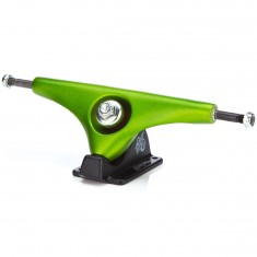 Gullwing Charger Longboard Trucks - Lime/Black