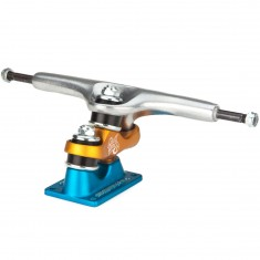 Gullwing Sidewinder II Longboard Trucks - Blue/Orange