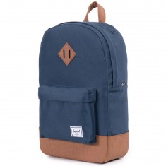 Herschel Heritage Backpack - Navy/Tan PU