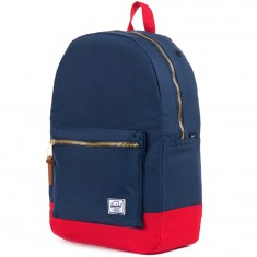 Herschel Settlement Backpack - Navy/Red
