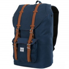 Herschel Supply Little America Backpack - Navy/Tan