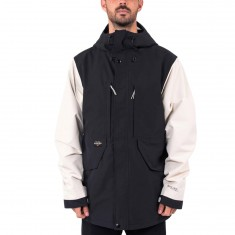 Holden Highland Snowboard Jacket - Black/Bone
