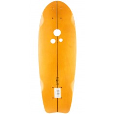 Holesom Crouton Longboard Deck - Copper/Black