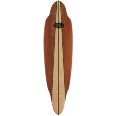 Honey Green Flex Longboard Deck