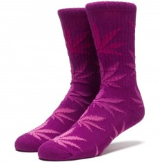 Huf Fader Plantlife Crew Socks - Purple